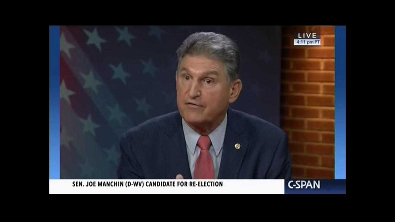 Joe Manchin will vote against West Virginia's pro-life