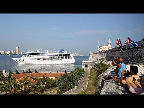 Erstes US-Kreuzfahrtschiff Seit 50 Jahren Erreicht Kuba