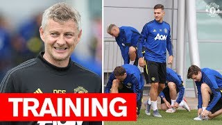 vuclip Manchester United | Squad training ahead of Tour 2019 | De Gea, Mata, McTominay, Martial