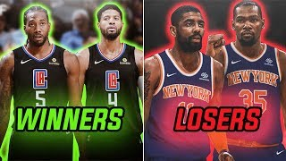 The WINNERS and LOSERS of 2019 NBA Free Agency