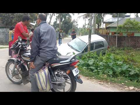 Accident aftermath at South Tengapara