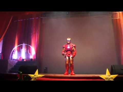 Iron Man at Taiwanese High School Graduation.mp4