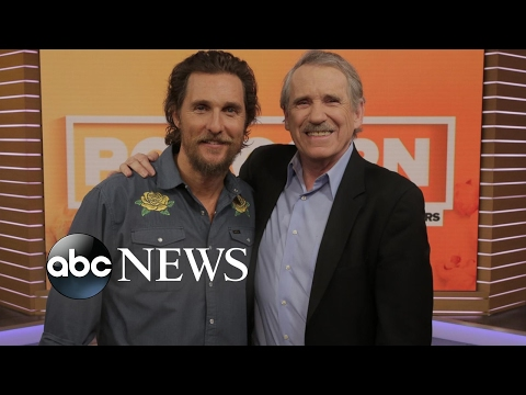 Matthew McConaughey Says His Mom Wants to Star in Movies With Him