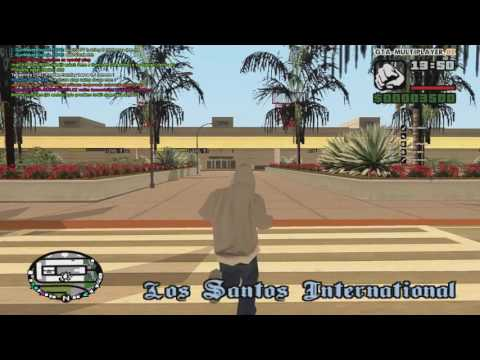 GTA San Andreas V Koži novačika na WTLS
