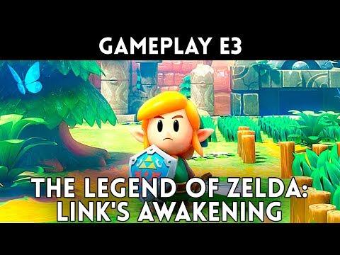 GAMEPLAY EXCLUSIVO The Legend of ZELDA: Link's Awakening SWITCH - E3 2019