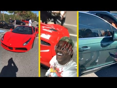 Lil Yachty Shows Off His Car Collection!