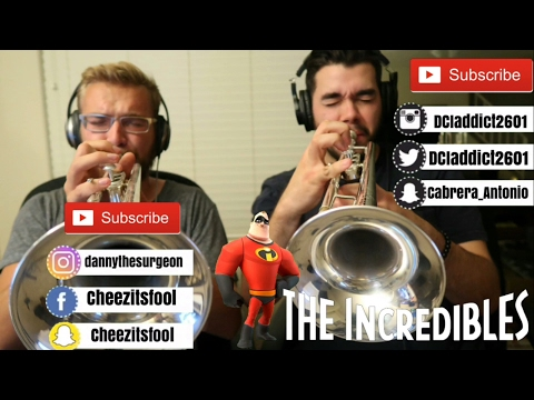 The Incredibles Theme- Trumpet Multitrack