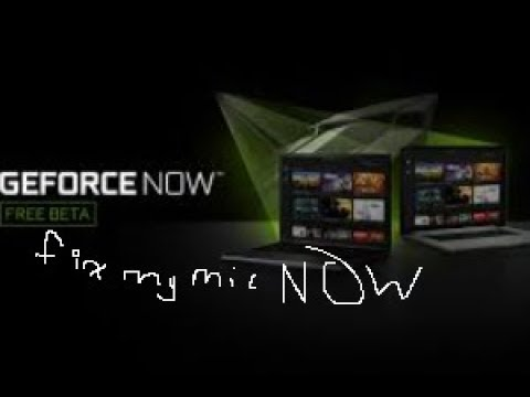 (Not Working) Geforce Now Voice Chat/Mic Not Working