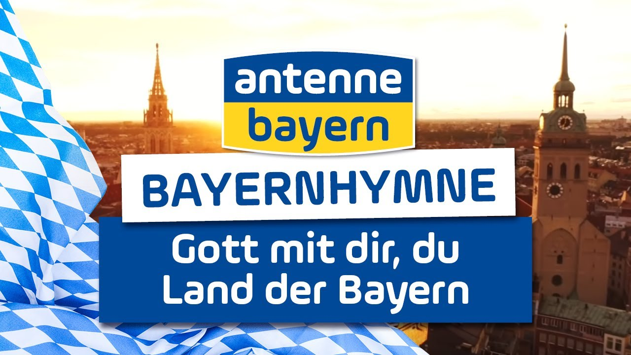 Die Bayernhymne auf ANTENNE BAYERN