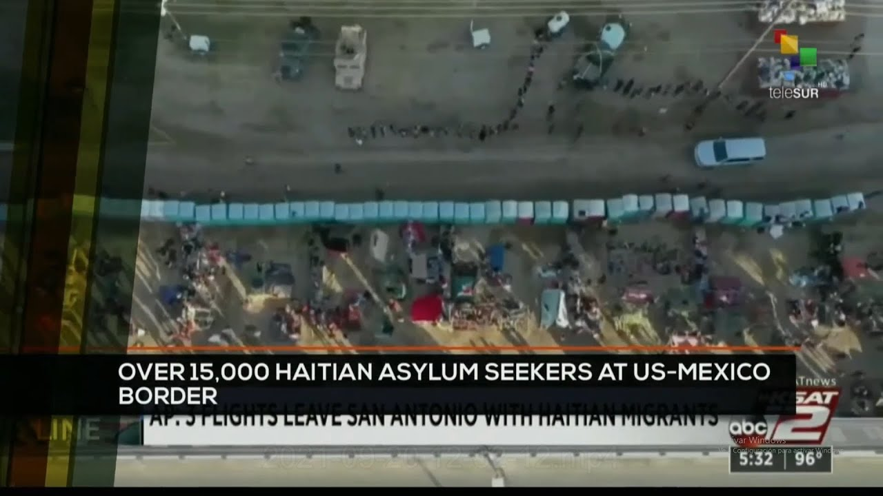 Download FTS 12:30 20-09: Over 15,000 Haitian asylum seekers at US-Mexico border