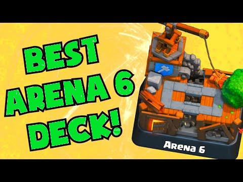 Clash royale best cards deck for arena 6 builders for Best builders workshop deck