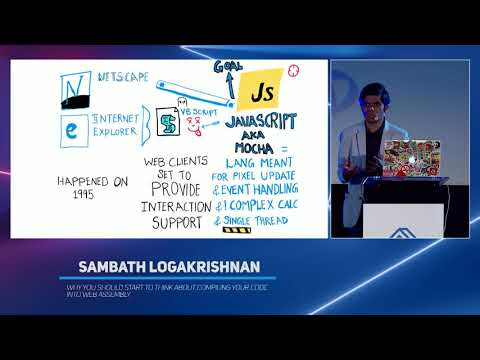 Why You Should (…) Compiling Your Code Into Web Assembly - Sambath Logakrishnan - Code::dive 2019