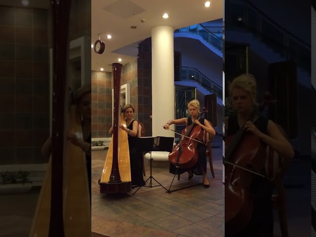 Арфа  и виолончель