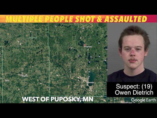 Multiple People Shot & Assaulted In Beltrami County, MN