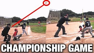 *must Watch* This Was The Craziest Little League Baseball Championship Game Ever!