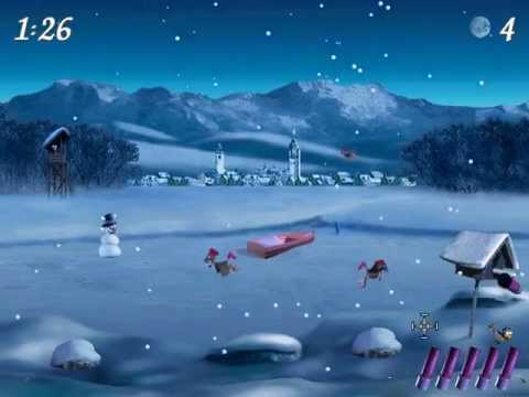 Moorhuhn Winter-Edition - Tricks, Eastereggs & Gameplay