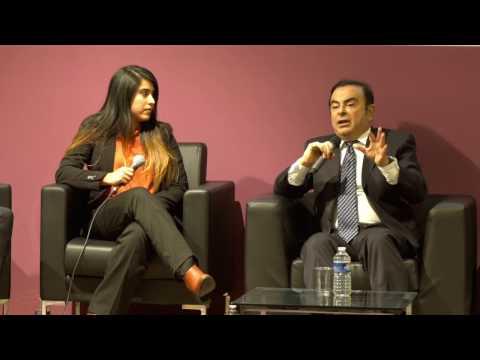 Rencontre avec Carlos Ghosn - Arts et Métiers