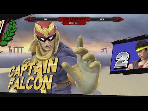 SFZ | n0x (C. Falcon) vs Mute (Ryu), Sm4sh Losers Top 8 @TheReset #4