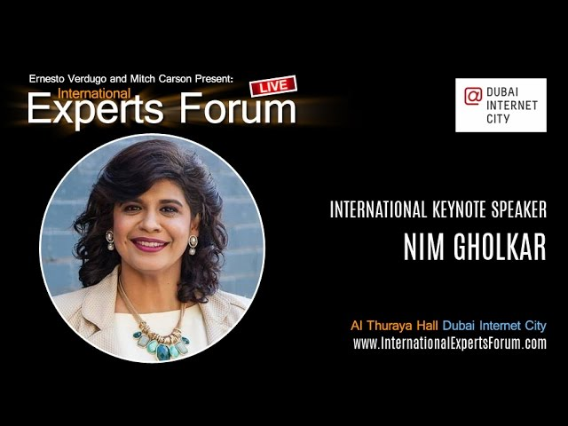International Keynote Speaker, Nim Gholkar