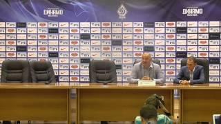 Пресс-конференция Черчесова