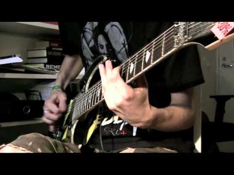 Meshuggah - Neurotica [Guitar cover]