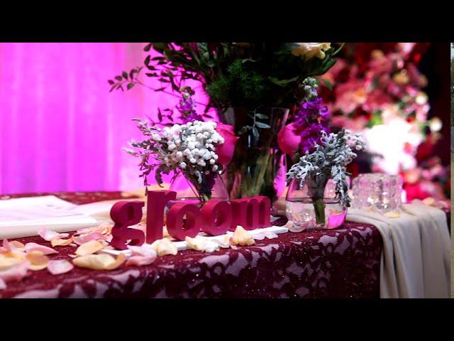 Wedding Deco by Flower Frenzie at Aloft KLSentral