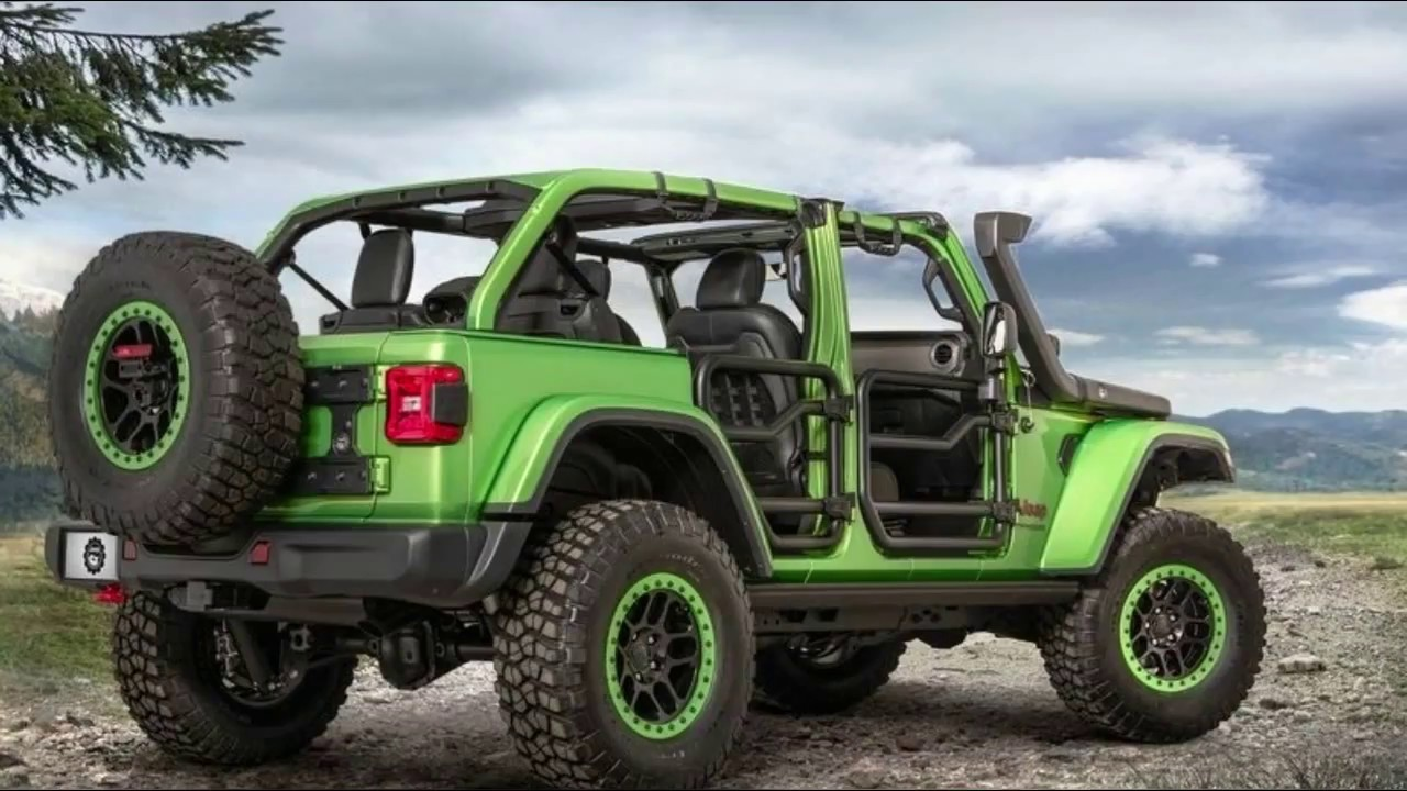 Jeep Wrangler Lifted >> Mojitos and Lift Kits The 2018 Jeep Wrangler JL Is All Ready for Mopar Parts - YouTube