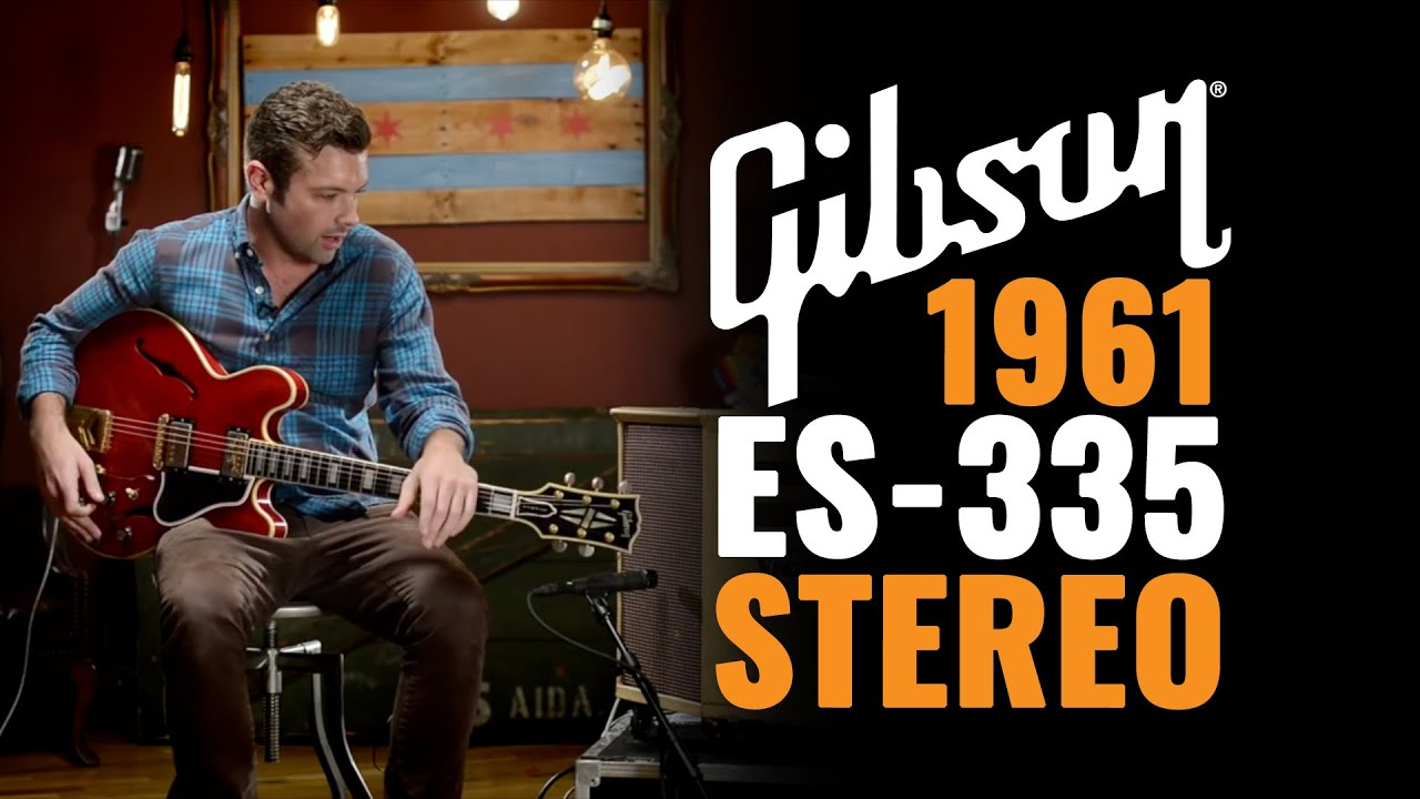 Gibson Es 355 Stereo Cherry 1961 Ga 79rvt 2x10 Combo 345 Wiring Diagram Vintage Cme Gear Demo Youtube