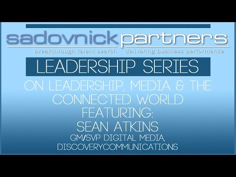 Sean Atkins, GM/SVP Digital Media, Discovery Communications