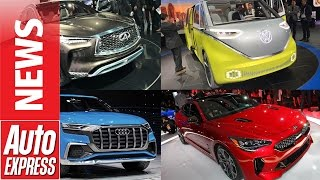 Best cars at the 2017 Detroit Motor Show