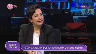 Gambar cover SGDD Genel Koordinatör Yardımcısı Ayşegül Yalçın Eriş Woman Tv'de
