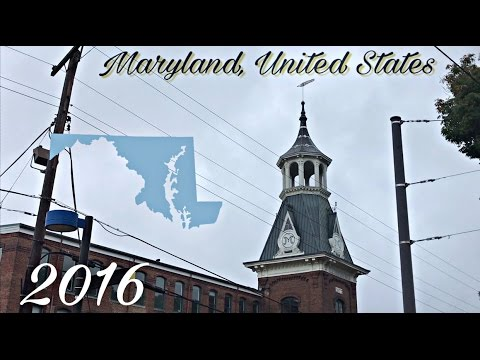 Travel Adventure 2016 Part 1: Maryland, United States