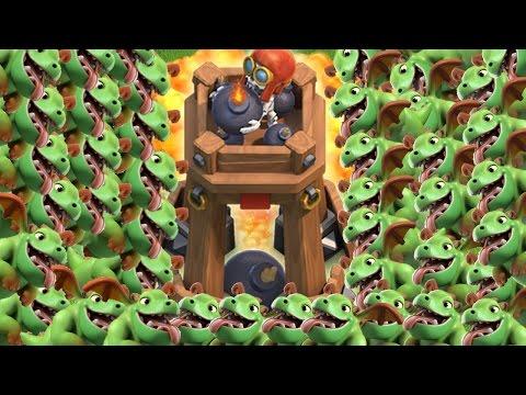 BOMBENTURM CHALLENGE! || CLASH OF CLANS || Let's Play CoC [Deutsch/German HD]