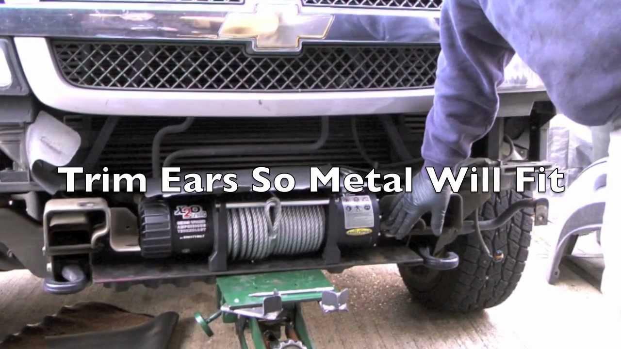 Smittybilt Winch-Chevrolet 4x4 - YouTube