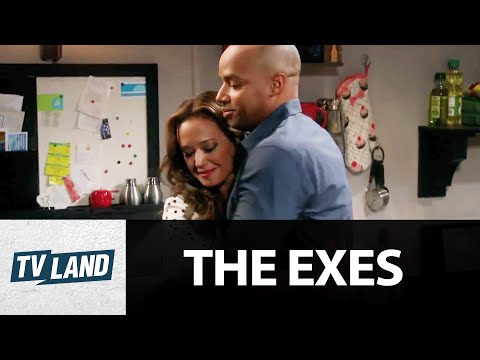 Leah Remini Nicki and Donald Faison Phil Hook Up  The Exes  TV Land