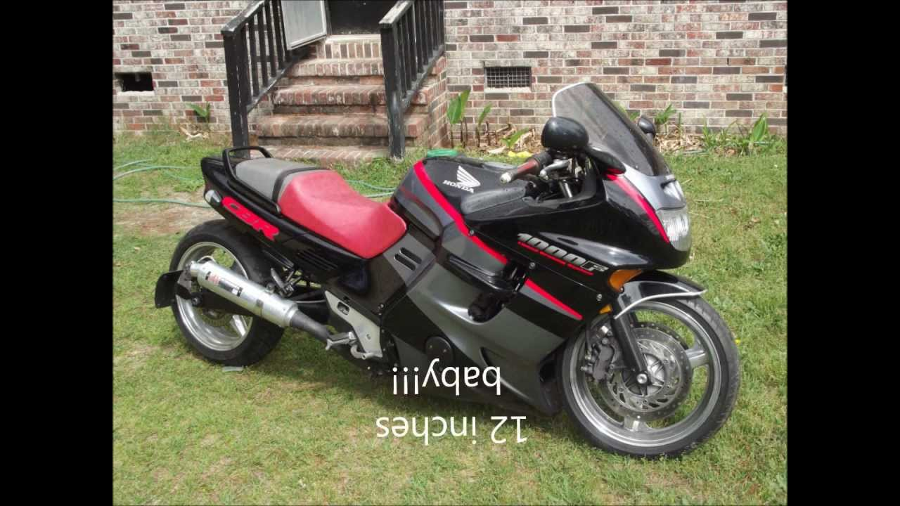 cbr 1000f before and after - youtube