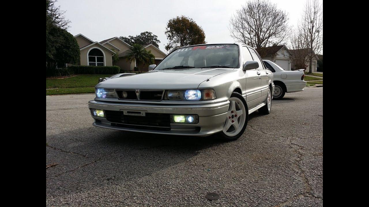 1989 Mitsubishi Galant VR4 E39A - YouTube