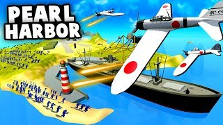 BATTLE of PEARL HARBOR! The PACIFIC WAR of WW2! (Ravenfield Best Mods)