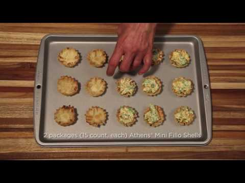 Athens Broccoli And Cheese Phyllo Shells Recipe