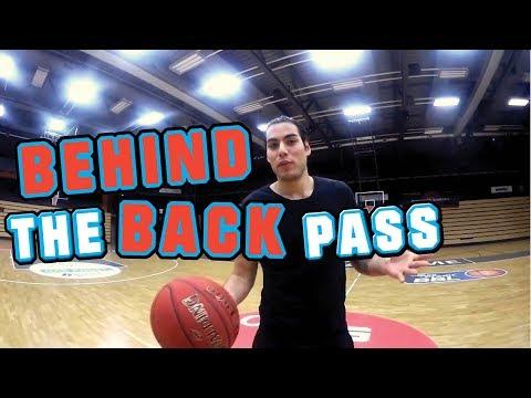 Hinter Dem Rücken Passen - Basketball Profi Erklärts