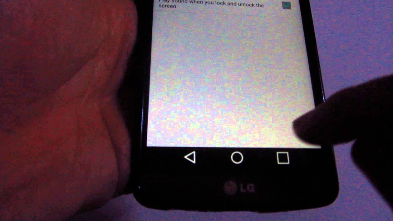 How to disable Tap Sounds & Vibrate on Tap on LG G3 (Android)