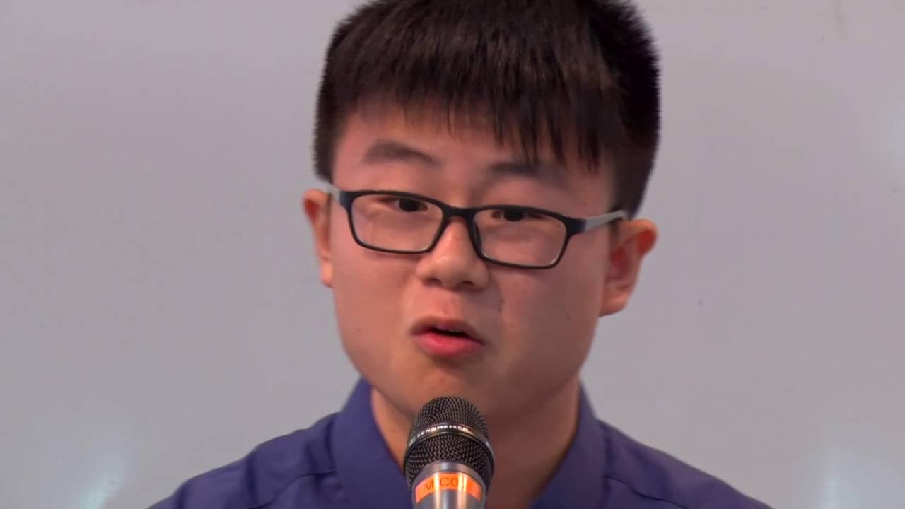 香港高中學生普通話演講大賽2017 (2016.7.9 小型比賽) - YouTube