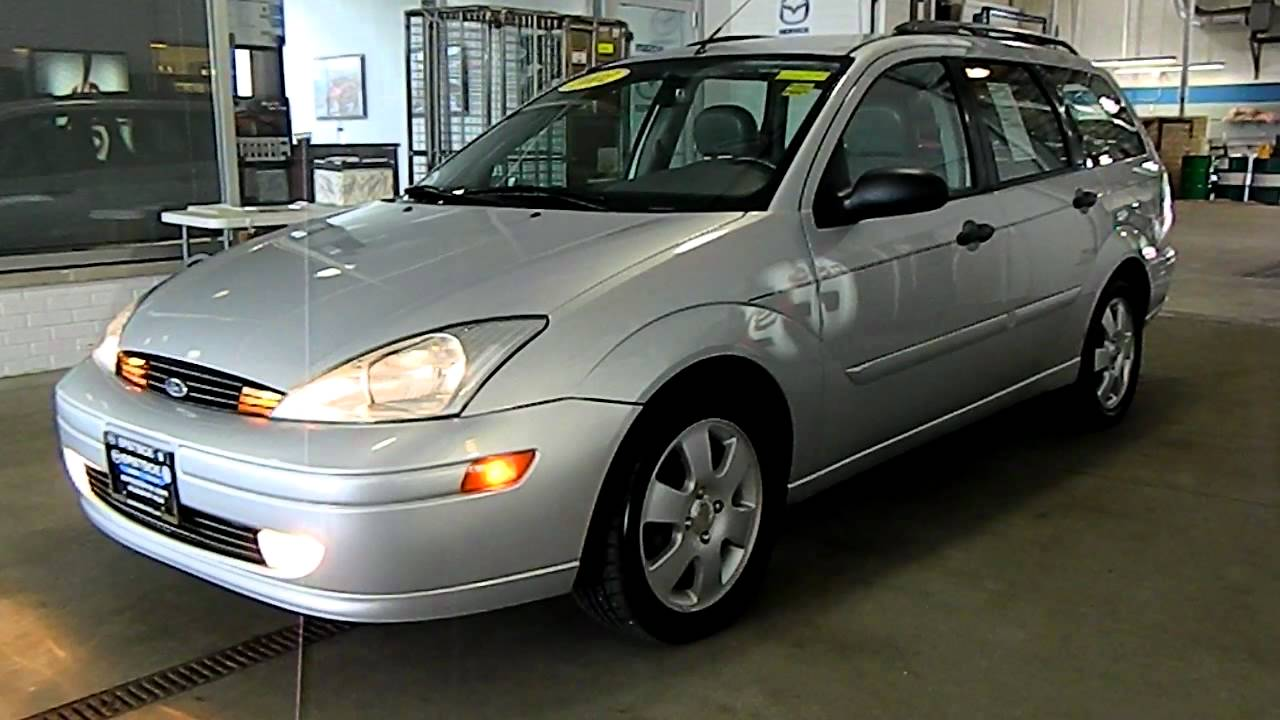 cd silver clearcoat metallic 2002 ford focus ztw wagon. Black Bedroom Furniture Sets. Home Design Ideas