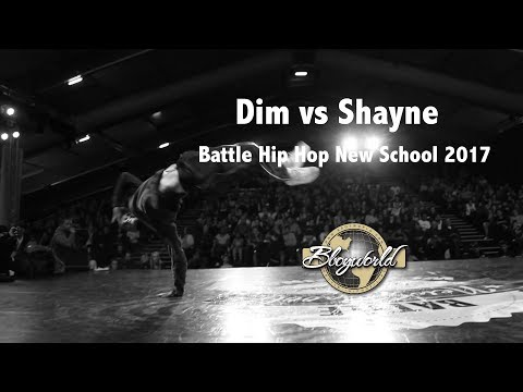 Dim vs Shayne [Quarter-Final] // Bboy World // Battle Hip Hop New School 2017