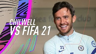 Chilwell mocks Ziyech's small legs!  | Ben Chilwell vs FIFA 21