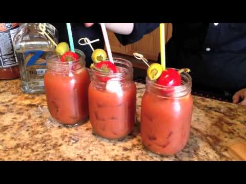 How to Make the Twin Liquors Bloody Z Maria