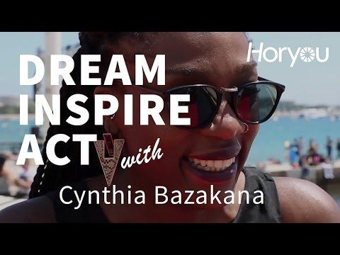 Cynthia Bazakana @ Cannes 2014 - Dream Inspire Act by Horyou