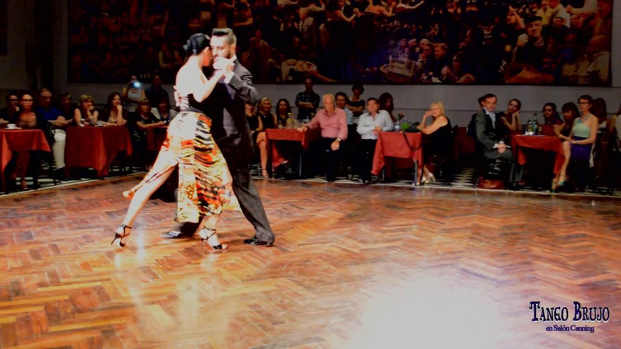 Javier rodriguez y moira castellano en tango brujo sal n for A puro tango salon canning