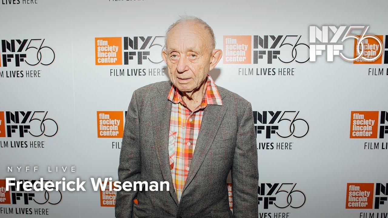 NYFF Live: Frederick Wiseman | NYFF56