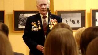 Воспоминания ветерана Великой отечественной войны